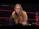 WWE 12 NOV 2018 HighLights - Becky Lynch and Smackdown Women ATTACK Ronda Rousey and Raw Women