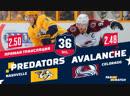 НХЛ 2018 19 РЧ Колорадо Нэшвилл 21 01 2019