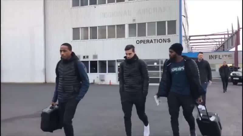 Команда вылетает в Барселону