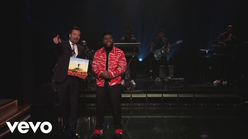 Khalid - Talk (Live From The Tonight Show Starring Jimmy Fallon)