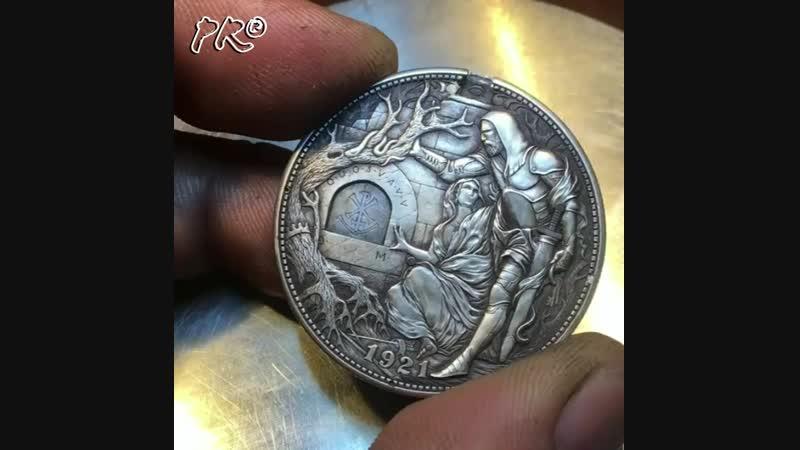 Удивительные механические монеты Романа Бутин