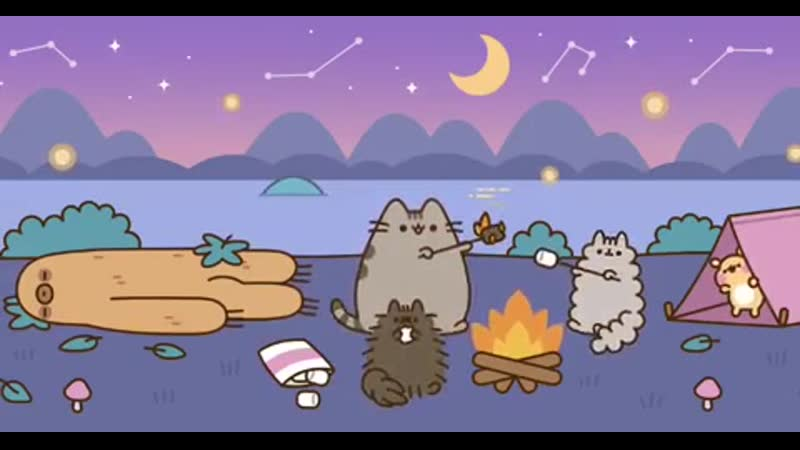 Pusheen the cat First Day of Summer