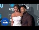 Chrissy Teigen and John Legend at 2019 Critics' Choice Awards