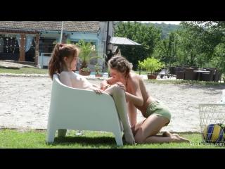 Jia Lissa and Kalisy - Love Match [Lesbian]