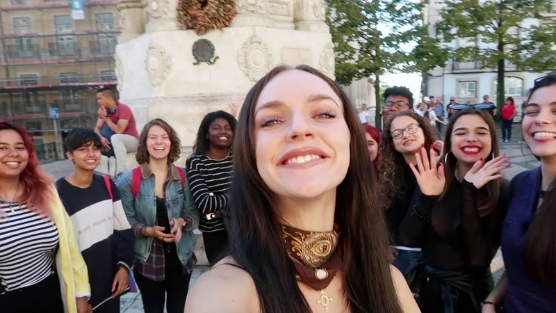 HANGING OUT WITH FANS IN EUROPE NEW SONG PREVIEW