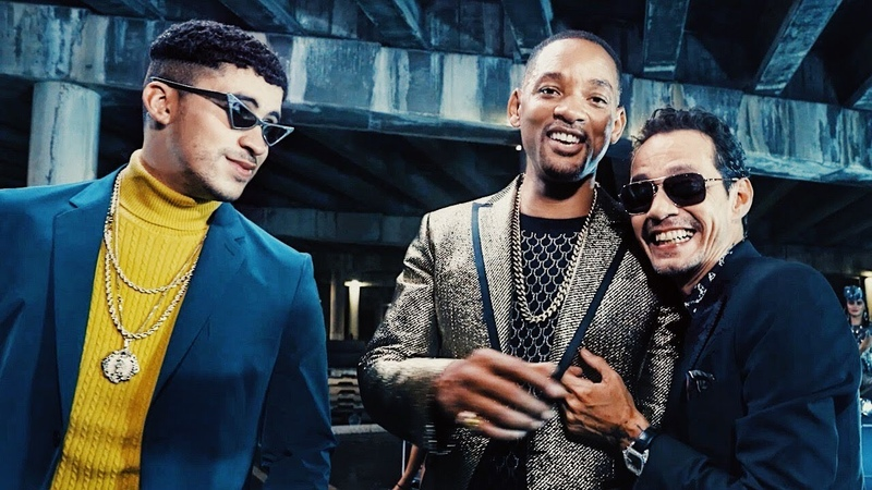 Making of Marc Anthony, Bad Bunny Will Smith's Esta Rico Video