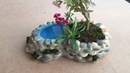 Ideas Bonsai Pots From Cement And Stone How To Making Pots at Home Creative construction
