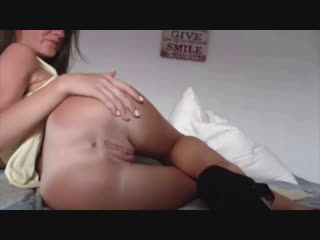 Anal beads and a thick dildo