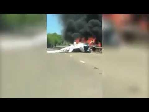 12-MAY-2019Cirrus SR22T GTS G5 2-RORO A40 Wales plane crash, UK
