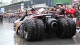 Batman Tumbler Drive Off at Gumball 3000 2013 (Batmobile Replica)