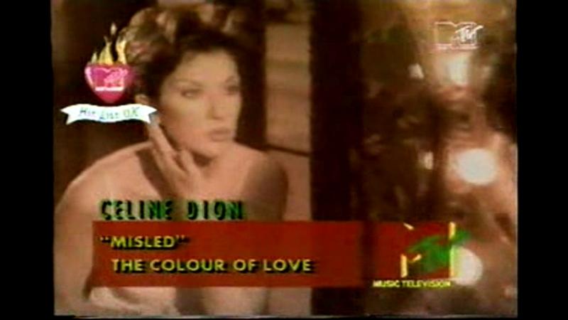 Celine dion - misled mtv