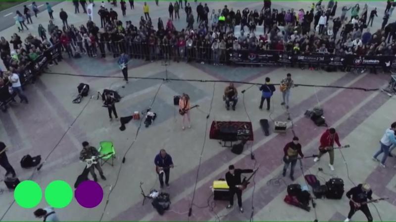 День 1000 музыкантов - I Love Rock and Roll (Joan Jett cover)