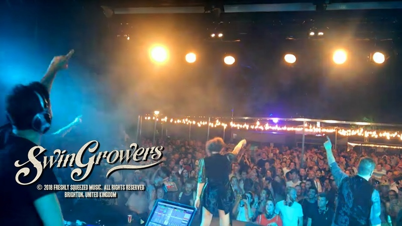Swingrowers LIVE at Montreux Jazz Festival 2018 - My Mood electroswing