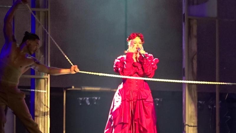 Концерт Кристины Агилеры в Радио-Сити-Мьюзик-Холл, Нью-Йорк, 03.10.2018 (1)