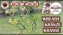 Quilling Wreath/ Kränze/ Kranse - Karen Marie Klip Papir