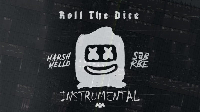 Marshmello, SOB X RBE - Roll The Dice (Acapella Instrumental) [FLP]