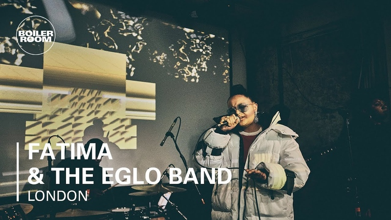 Fatima The Live Eglo Band   Live Jazz Soul   Boiler Room x Land Rover: Live For The City