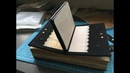 Even more folds! Unique handmade notebook / OOAK / Process video