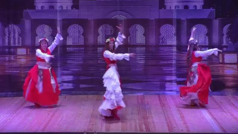 Группа Аквамарин студии восточного танца Гюльчатай - «Заинька» (Филькина Елена Сергеевна)