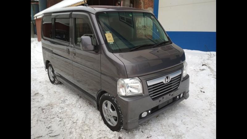 Honda Vamos Хонда Вамос 2014 4WD передан заказчику в Омске Без пробега по РФ
