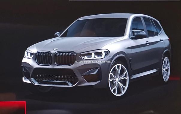Раскрыта внешность серийного BMW X3 M.