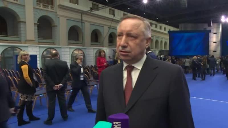 Александр Беглов о вопросе утилизации отходов Красного Бора