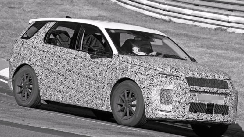 LAND ROVER DISCOVERY SPORT 2019 spied