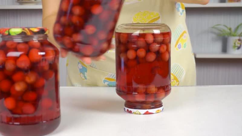 Как быстро законсервировать КОМПОТ На Зиму из любых ягод и фруктов ✧ ГОТОВИМ ДОМ