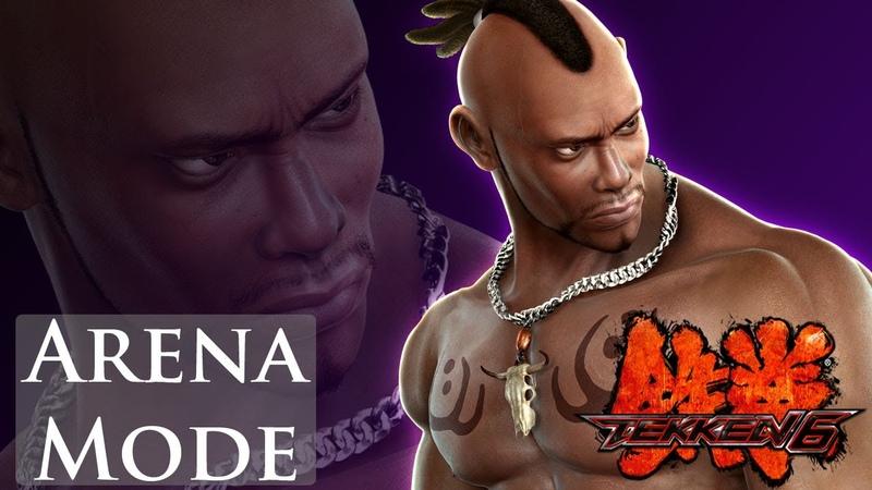 Tekken 6 - Arena Mode - Bruce Irvin