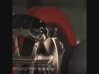 Formula 1 - тест тормозной системы