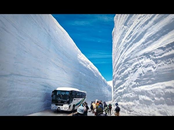 Как Японцы Убирают Снег