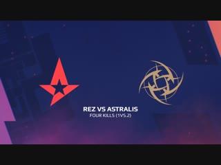Highlights: rez vs astralis | blast pro series: lisbon 2018
