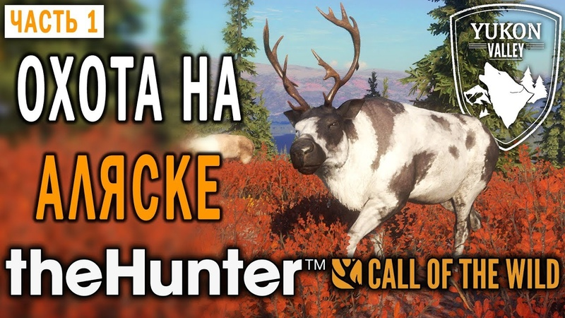 TheHunter Call of the Wild 1 🐺 Охота на Аляске Новый Заказник Долина Юкона