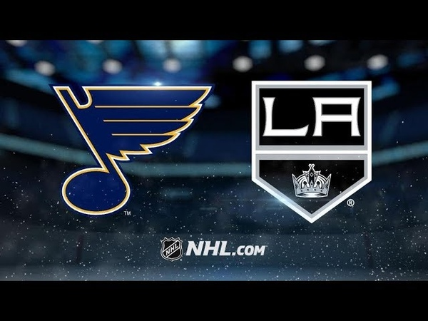 St Louis Blues vs Los Angeles Kings Jan 21 2019 Game Highlights NHL 2018 19 Обзор матча