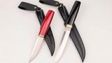 Пара Пуукко (Финские ножи, М390+микарта)