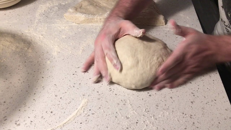 Flour Water Salt Yeast style boule shaping - artisan bread