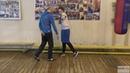 Бокс координационное упражение со скамейкой для постановки удара English subs