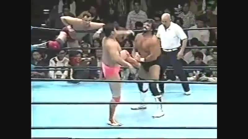 1996.10.06 - NTV All Japan Pro Wrestling Relay