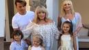 В гости на КИПР к маме Алле Пугачевой приехала КРИСТИНА ОРБАКАЙТЕ с семьей. Все на день рождения