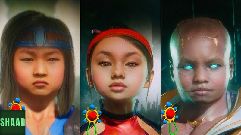 Mortal Kombat 11 - All Characters as Babies (Cute)