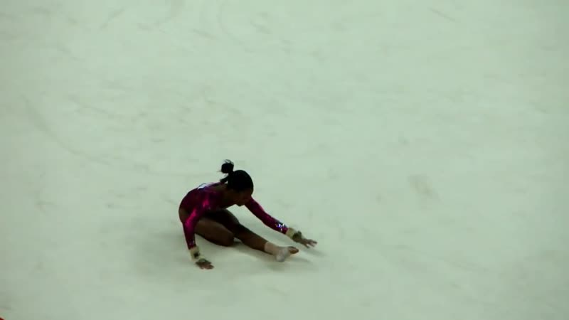 Габриэль Дуглас Gabrielle Douglas FX Olympic Games, London 2012 спортивная гимнастика