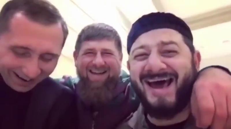 Путин и Рамзан кадыров Прикол НЕ ВОШЕДШИЕ В ЭФИР