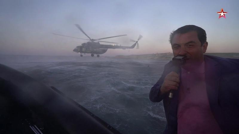 Выброска боевых пловцов из вертолета уникальные кадры
