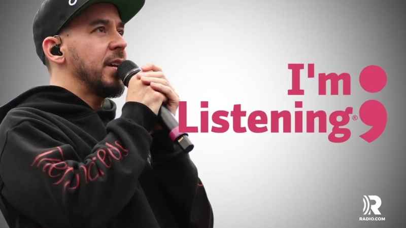 Linkin Parks @mikeshinoda recognizes the importance of mental health. Tune-in Sunday, September 9th for ImListening.