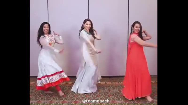 Танец Мадхури Дикшит. Пресс-конференция шоу Dance Deewane 28.05.19 г.