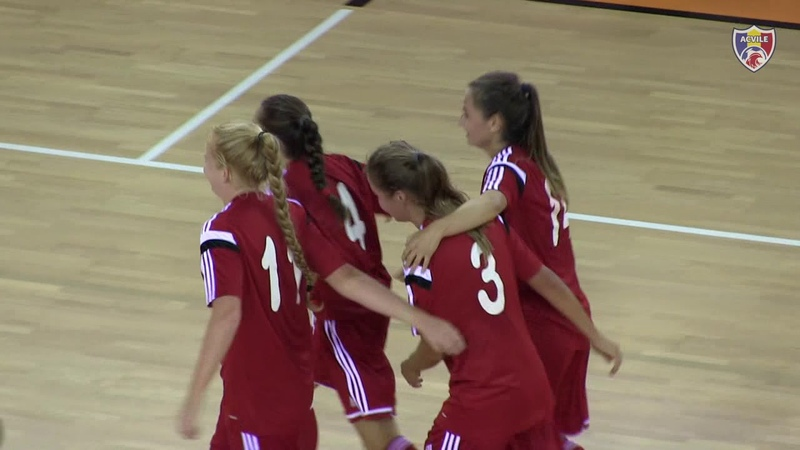 Futsal Feminin. Armenia 2-5 Belarus Preliminariile CE-2019, 22.08.2018