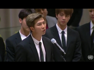 Speech to the UN Youth Strategy 2018 BTS 2