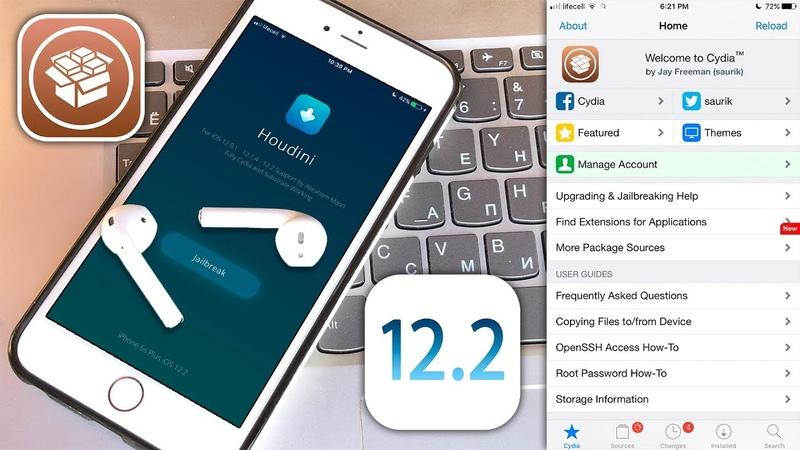 Cydia iOS 12.2 - 12.1.4 Tweaks Works! Released Jailbreak iOS 12 [Houdini b4]