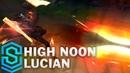 High Noon Lucian Skin Spotlight - Pre-Release - League of Legends