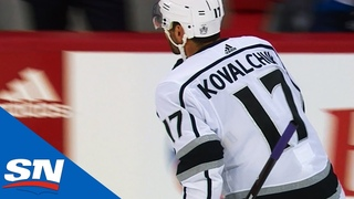 Kings' Ilya Kovalchuk Scores First Goal Since Return From KHL
